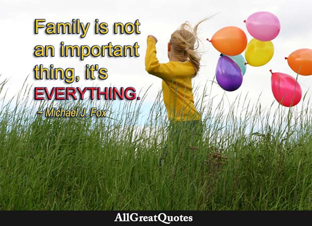 family is everything michael j fox quote