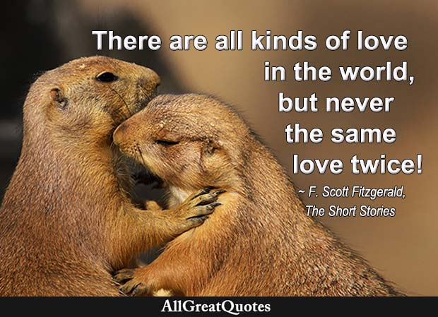 all kinds of love - f scott fitzgerald