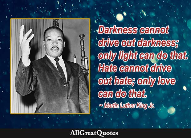 martin luther king jr love hate