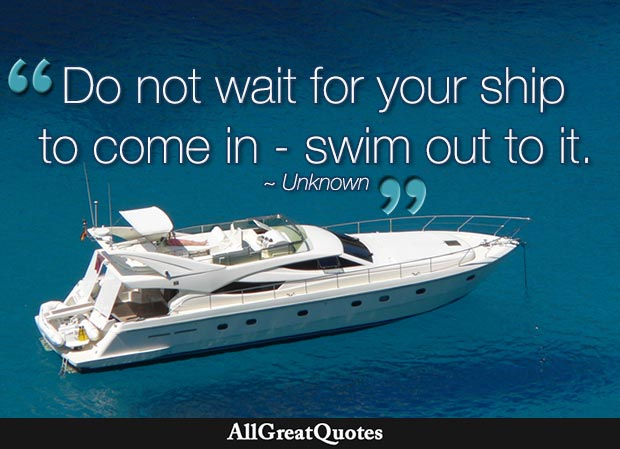 do not wait for your ship quote