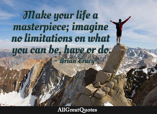 make your life a masterpiece brian tracy