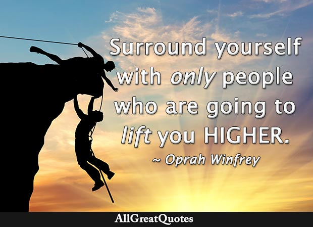 lift you higher quote oprah