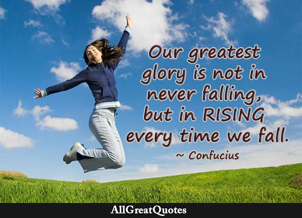 our greatest glory quote confucius