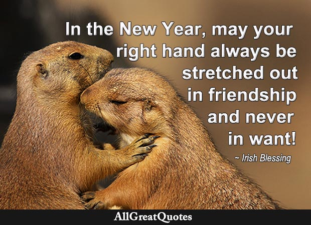 irish blessing for new year