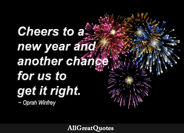 cheers to a new year oprah winfrey