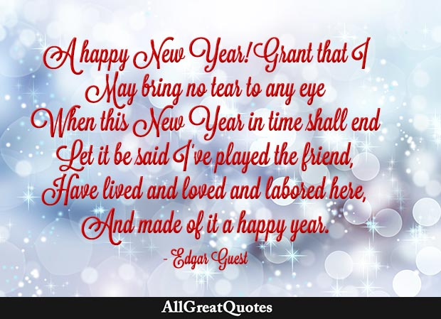 edgar guest happy new year quote