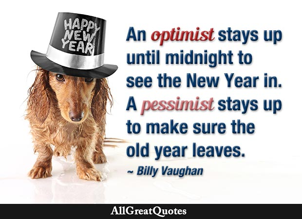 billy vaughan new year quote