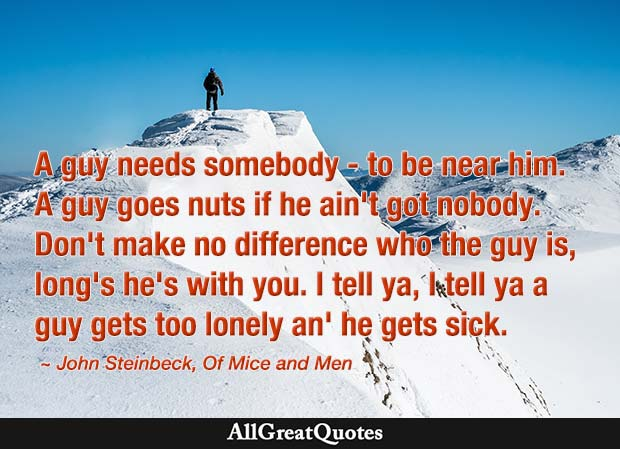 Of Mice And Men Quotes. Of Mice And Men Quotes From