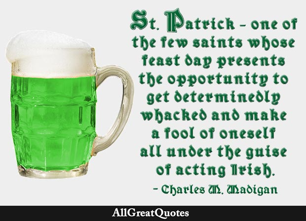St. Patrick\'s Day Quotes, Happy St. Patrick\'s Day Quotes ...