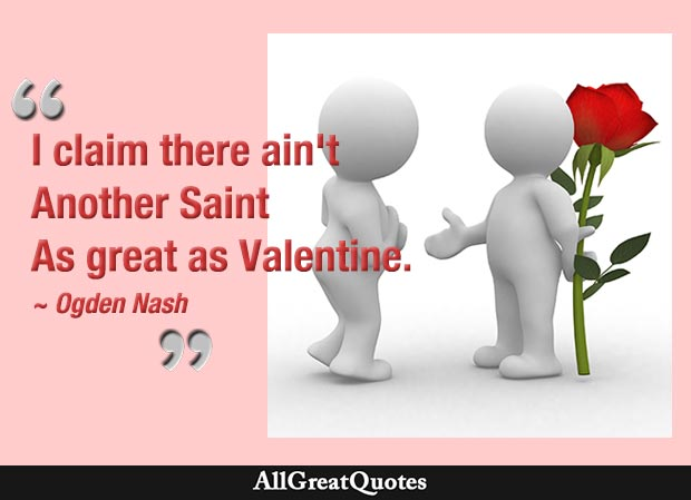 Valentine\'s Day Quotes, Famous Valentine\'s Day Quotes - AllGreatQuotes
